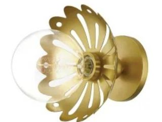 Mitzi Brass lighting Fixture  Bulb Not Included