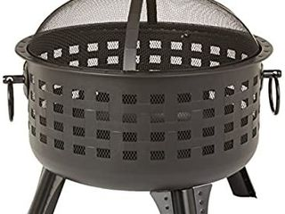 Amazonbasics Steel lattice Fire Pit 60 Cm  23 5 Inches