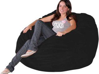 large Black Bean Bag Chair