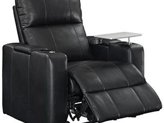 larson Power HT Recliner Blanche Black