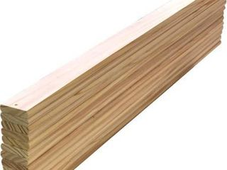 Solid Pine Wood Slats Full Size Bed Mattress Support Wooden Slats 54 in long x 2 75 in Wide x 5 8 in Tall Pack of 14 Count Replacement Spare Parts Custom Size Cutting Service
