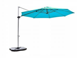 Abba Patio11  Patio Offset Cantilever Umbrella 360A Rotation Aluminum