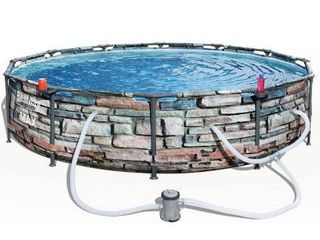 Bestway Steel Pro Max Pool Set W o Filter Open Box  12 x 30