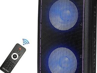 Dolphin Partybox 3400w Bluetooth Tailgate Party Speaker System With lights   Tws