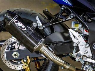 M4 Suzuki 2015 2016 GSX S750 Slip on