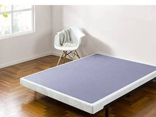 Zinus 5 Inch low Profile Smart Box Spring   Mattress Foundation   Strong Steel