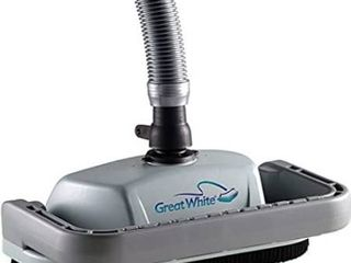 Pentair GW9500 Kreepy Krauly Great White Inground Pool Cleaner Grey Black