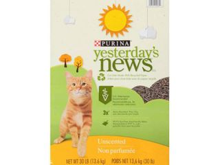 YESTERDAY S NEWS PRODUCTS 702305 Yesterday S News Cat litter  30 Pound