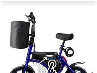 IdeaPlAY P10 Plus Foldable eBike with Basket   Bike lock