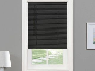 Achim Cordless GII Morningstar 1  light Filtering Mini Window Blind  Black