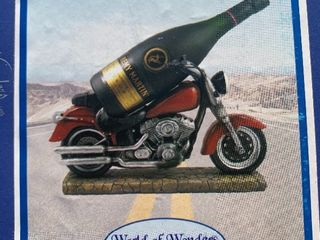 Who are the motorcycle over easy Rider wine bottle holder