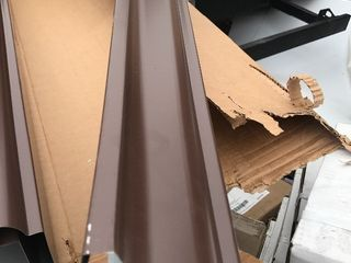 5 inch heavy duty gutter 8 feet long