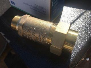 New brass backflow preventer