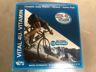 Two boxes of sport vitamin packets each daily packet has multiple vitamins as pictured