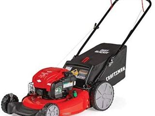 Craftsman M125 163cc Briggs   Stratton 675 exi 21 Inch 3 in 1 Gas Powered Push lawn Mower with Bagger