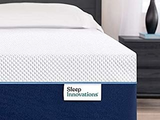 Sleep Innovations Marley Cooling Gel Memory Foam Mattress in a Box   Made in USA   Medium Firm   Pressure Relieving