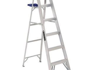 louisville ladder AS2106 250 Pound Duty Rating Aluminum Stepladder  6 Feet
