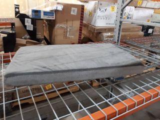 Flat Grey Memory foam Dog Bed