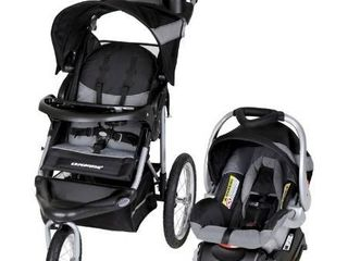 Baby Trend Expedition Jogger Travel System with 20  off Priscilla Diaper Bag