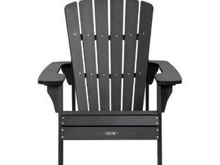 lifetime Adirondack Chair  Black