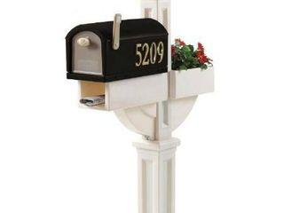 Step2 MailMaster Hudson With Planter Black White