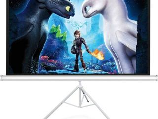 120 inch 4 3 portable projector screen with tripod stand