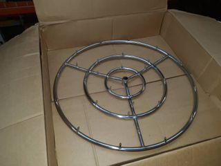 30 inch round high flame fire pit burner ring