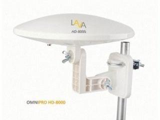 lAVA HD8000 Omnidirectional Outdoor TV Antenna HD TV 4K 360 Degree with Installation Kit