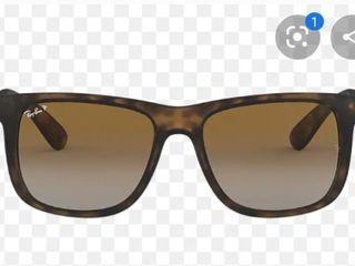 RayBan RB4165 Justin Classic Sunglasses Tortoise  Brown Gradient 55mm  Retail 94 09
