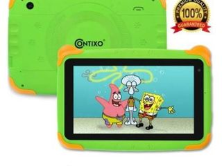 Contixo K4 Kids learning Tablet Android 6 0 7  Touch Screen Display Bluetooth WiFi Camera Android Tablet   Green  Retail 75 48