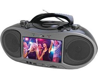 NAXA Electronics NDl 256 7  Bluetooth DVD Boombox