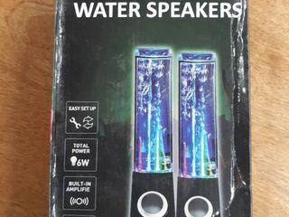 lED Dancing Water Speaker