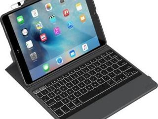 ZAGG Rugged Messenger Keyboard Cover Case  Folio  for 10 5  Apple iPad Pro Tablet   Black  Retail 99 95