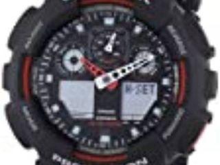 Casio G Shock GA 100 Black   GA 100 1A4R Watch  Retail 83 99