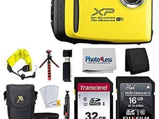 Fujifilm FinePix XP140 Shock   Waterproof Wi Fi Digital Camera Bundle  Retail 196 49