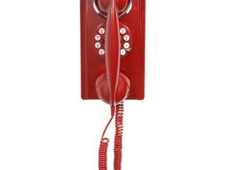 Crosley Wall Phone   Red  CR55 RE
