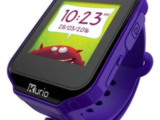 Kurio Kids Smartwatch Bluetooth Watch with Messaging  Apps  Games  Tracker and Camera for Photo and Video   lavender