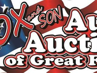 Ox and Son Public Auto Auction 12/19
