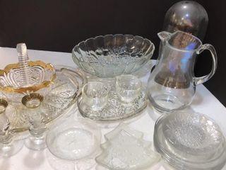 Gold and Regular Glassware