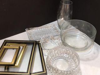 Etched Glassware   Frames