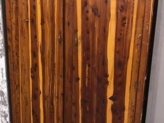 large Cedar Panel Wardrobe