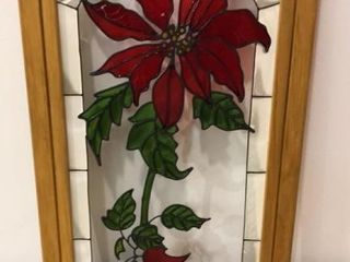 Stained Glass Flower Picture