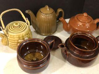 Brown Teapots