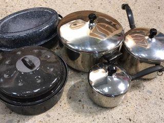 Farberware Pots   Roasters