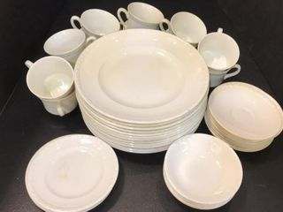 White Plates   Cups