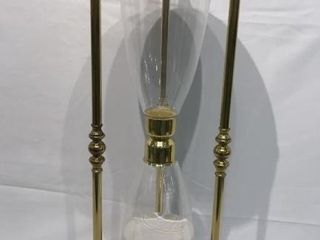 Koppy Solid Brass Hourglass  2 ft  Tall
