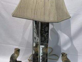Alabaster Eagle Bookends   Mirror lamp