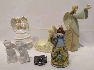6  Decorative Angels  Jim Shore  December