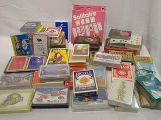 large Selection of Playing Cards