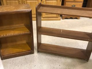 2  Small Book Cases